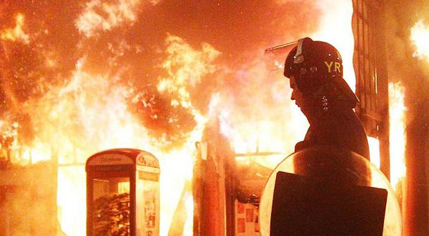 Researchers said Twitter was used to help organise clean-up operations after riots across London and other cities