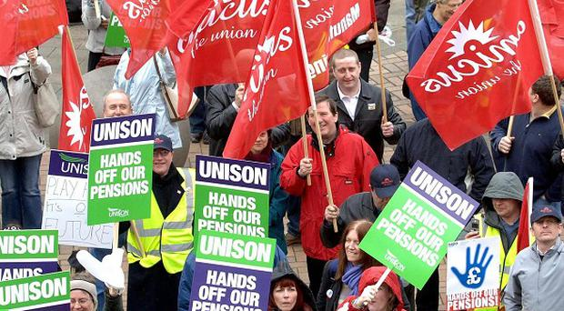 Unions have criticised the Government's new NHS pensions proposals as a 'smash and grab raid'