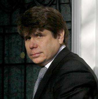 Ex-Illinois governor Rod Blagojevich told a judge he had made 'terrible mistakes' as he was jailed over corruption charges (AP)