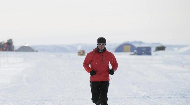 Ultramarathon runner Richard Donovan who braved some of the coldest temperatures on the planet to set a new record