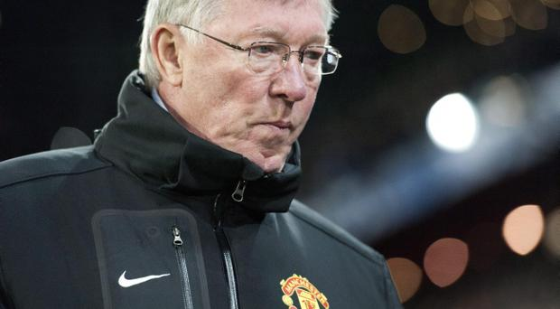 Manchester United boss Sir Alex Ferguson swatched his side crash out of the Champions League this week