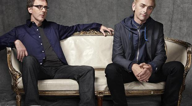 Karl Hyde (right) and Rick Smith (left) have worked together for 30 years