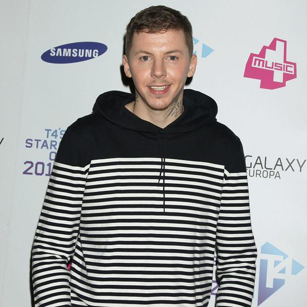 Professor Green lost out to Florence And The Machine in the charts