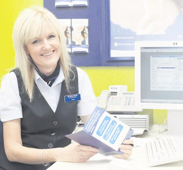 Ann Callan believes life experience is a key ingredient to fulfilling her role as a customer adviser at Ulster Bank