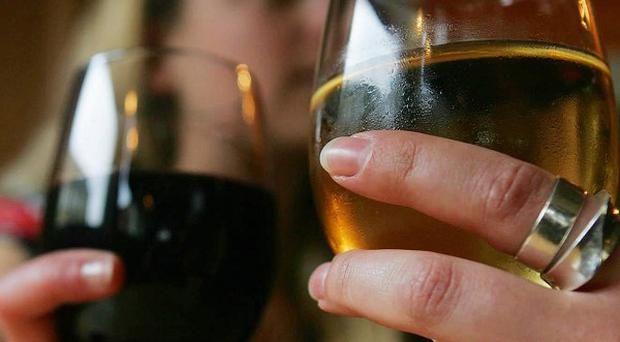 The number of people admitted to hospital for conditions linked to alcohol has increased