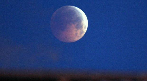 A lunar eclipse will be visible from the Shetland Isles, if the weather holds