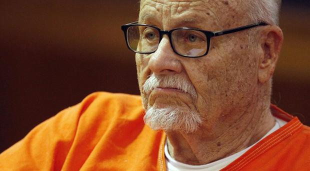 Jodie Foster's 89-year-old estranged father Lucius is shown during sentencing for grand theft (AP)