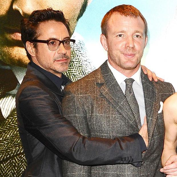 Robert Downey Jr and Guy Ritchie reunited for the sequel