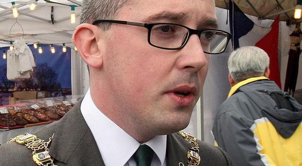 Belfast mayor Niall O Donnghaile refused to present an award to an Army cadet