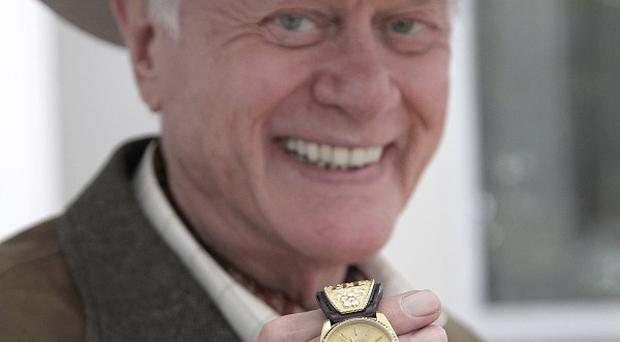 Larry Hagman has returned to Dallas for a new series of the iconic TV drama (AP)