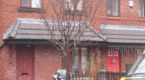 The house in Hill Street in Toxteth, Liverpool, where a 19-year-old girl was stabbed to death