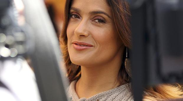 Salma Hayek said it took her a while to get over Bambi