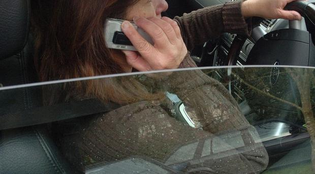 Drivers are continuing to use their mobile phones while driving, despite harsher fines