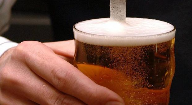 The GMB union is calling for action over the practice of 'under-filling' pints of beer in pubs