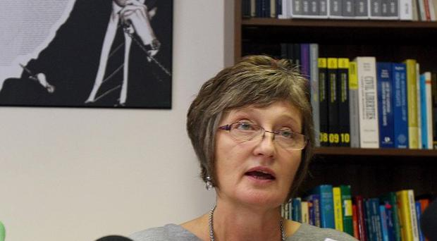 Pat Finucane's widow Geraldine is launching a legal challenge over the lack of a Government inquiry into her husband's death