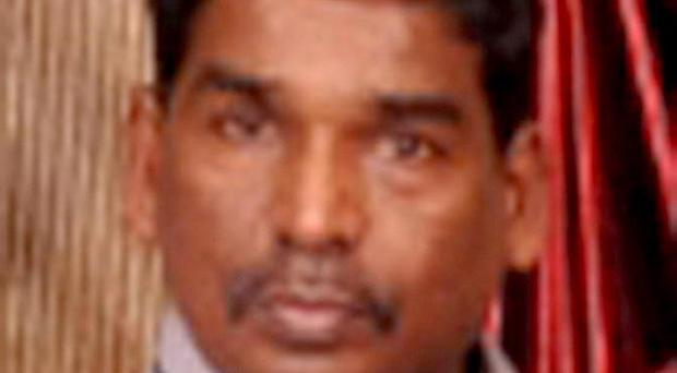 Suppiah Tharmaseelan, 48, who was stabbed to death during a robbery in Kingstanding, Birmingham