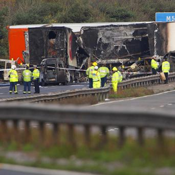 The Highways Agency was advised to upgrade its fog warning system 18 months before a fatal pile-up on the M5