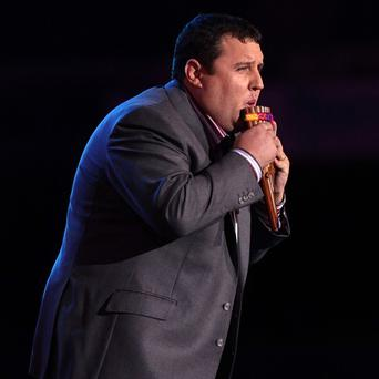 Peter Kay has topped the 10 million mark for sales of his DVDs