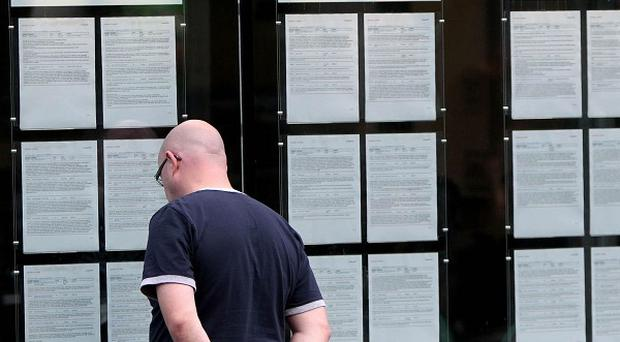 The unemployment rate has risen to more than 14 per cent, latest statistics show