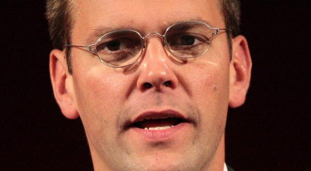 James Murdoch was sent emails that claimed phone-hacking was 'rife' at the News of the World