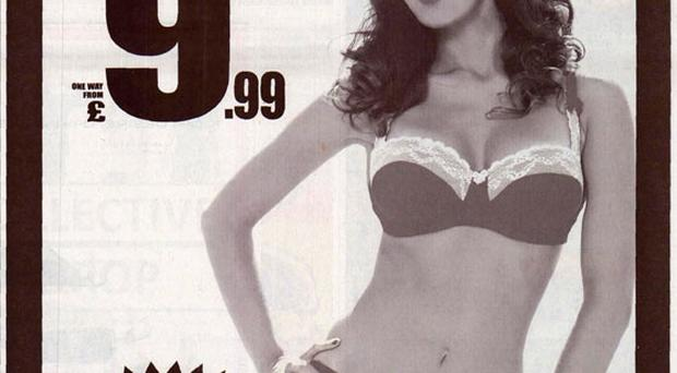 Ryanair's controversial 'Red hot' newspaper ad