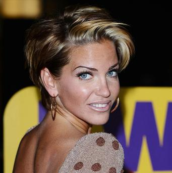Sarah Harding has revealed it was her Girls Aloud bandmates who first spotted she needed help