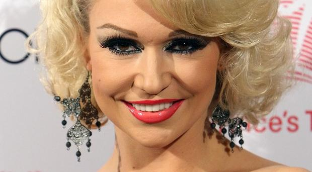 Kristina Rihanoff is competing for this year's Strictly glitterball