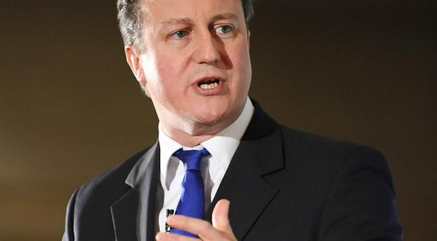 David Cameron said he was 'standing up for Britain' by deploying the UK's veto to block an EU treaty to bail out the euro