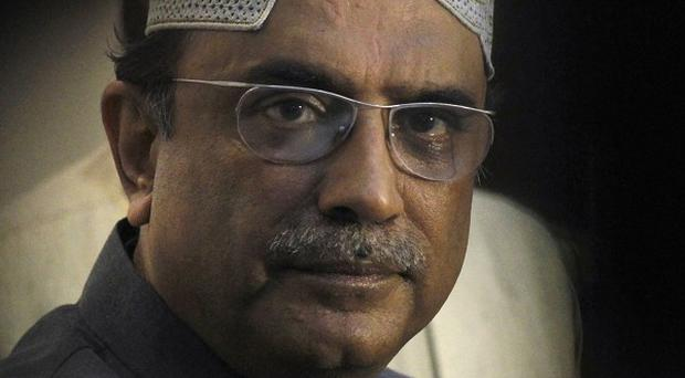 Pakistan's president Zardari has been released from hospital after treatment for a 'mini-stroke' (AP)