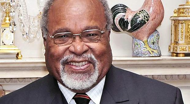 Sir Michael Somare claims he is the rightful prime minister of Papua New Guinea