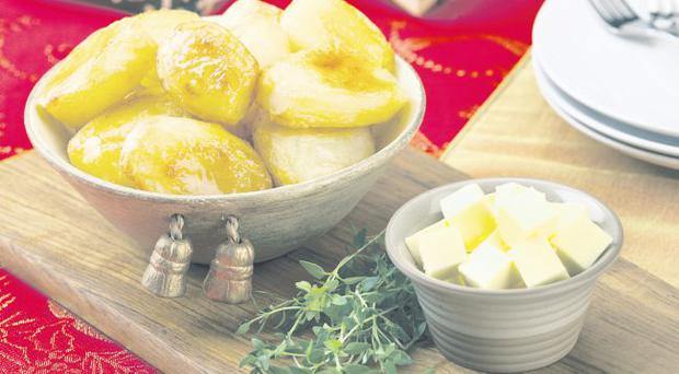 Butter-roasted potatoes