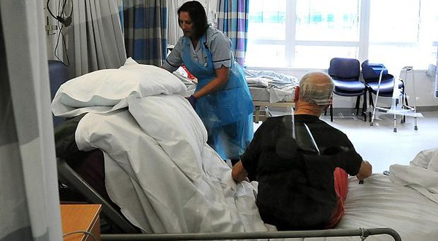 Many NHS trusts in England are struggling to become foundation trusts due to financial problems, a study found