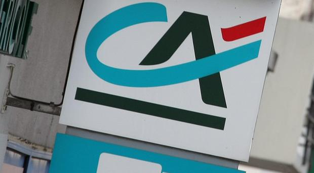 Credit Agricole is one of five European banks downgraded by Fitch Ratings (AP)