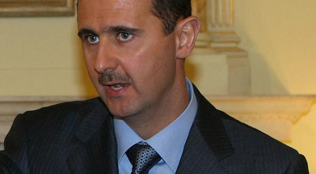 Syrian President Bashar Assad claims he never ordered the brutal suppression of the uprising in his country