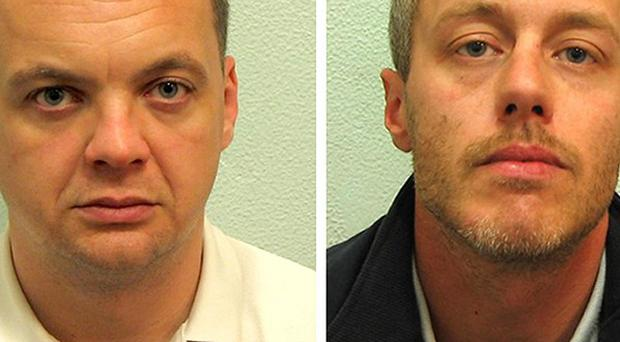 Gary Dobson (left) and David Norris deny the murder of Stephen Lawrence