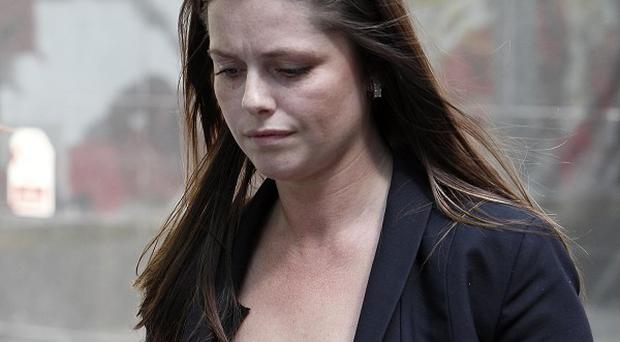 Jennifer Green has admitted handling photos which were stolen from Coleen Rooney