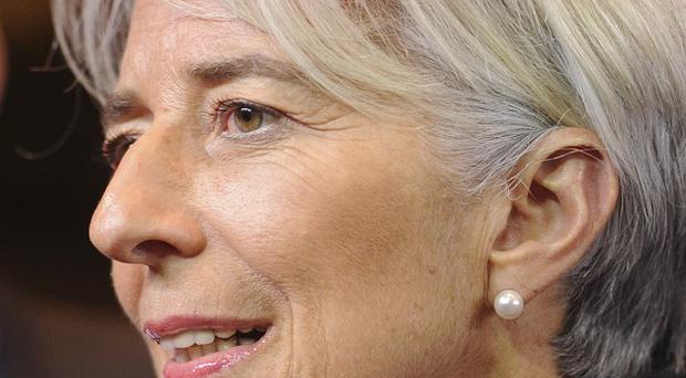Christine Lagarde has issued a new warning about the outlook for the global economy