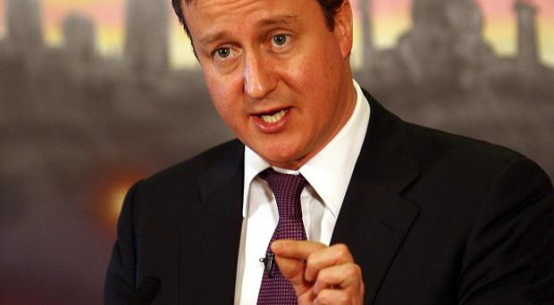 David Cameron says his families help programme can help rebuild shattered lives