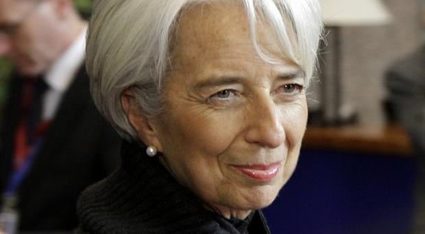 Christine Lagarde said Europe's problems will not be solved by Europe alone (AP)