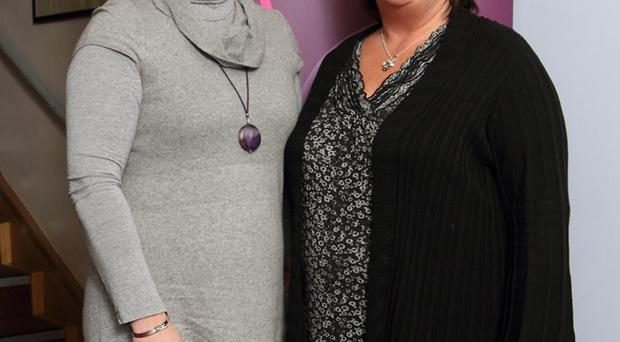 Rosemary Morrison and Anne Dargan