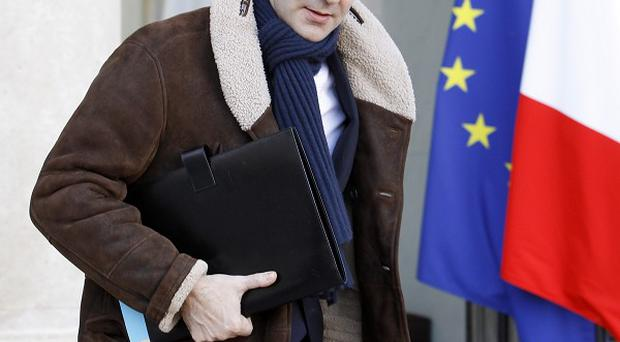 French finance minister Francois Baroin said Britain's economic situation is 'worrying' (AP)