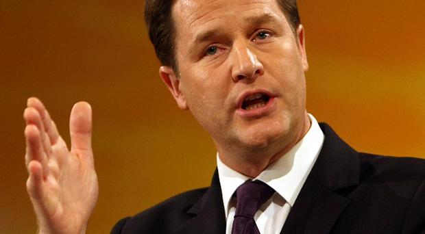 Nick Clegg said recent remarks from members of the French government about the UK economy were 'simply unacceptable'