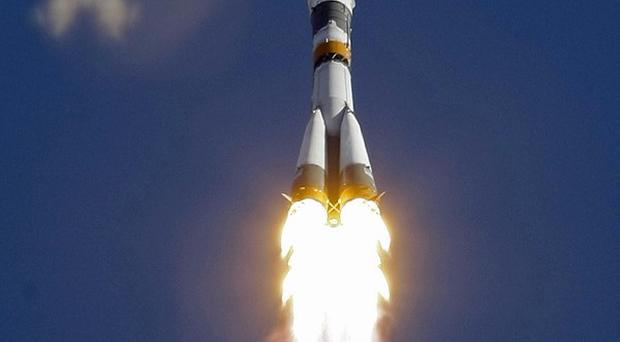 The Soyuz rocket is to launch six satellites into orbit