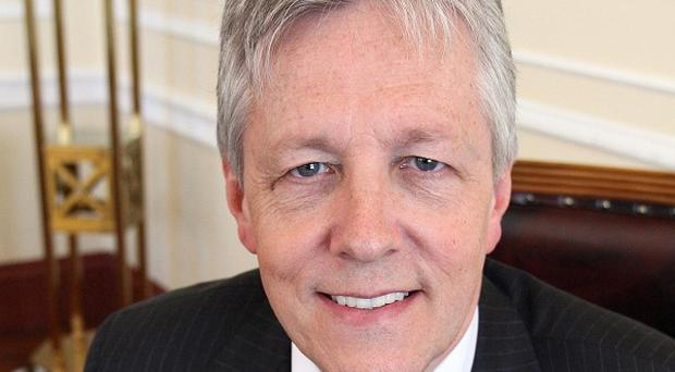 First Minister Peter Robinson is backing a campaign to support independent retailers