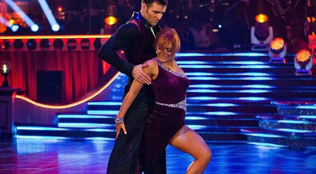 Aliona Vilani and Harry Judd won the Strictly Come Dancing garnd final (Guy Levy/BBC/PA Wire)