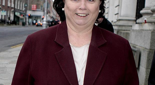 Health Minister Mary Harney is one of 25 female TDs