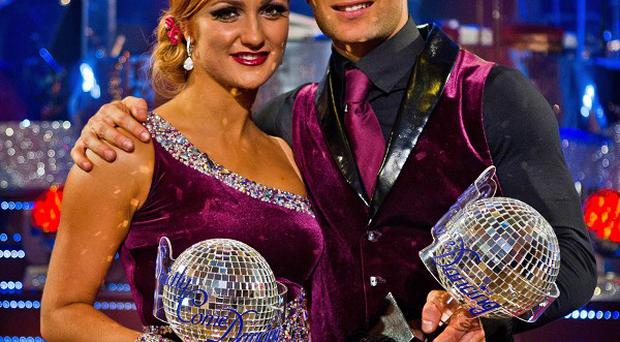 McFly drummer Harry Judd, pictured with dance partner Aliona Vilani, took the Strictly title