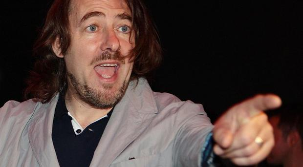 Jonathan Ross kicked off the British Comedy Awards with a series of typically risque jokes