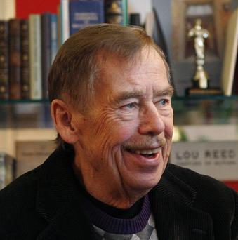 Former Czech Republic president Vaclav Havel has died at the age of 75 (AP)