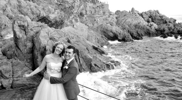 The wedding in Italy of Ciara Burke and Mark Cromie <p><b>To send us your Wedding Pics <a href=